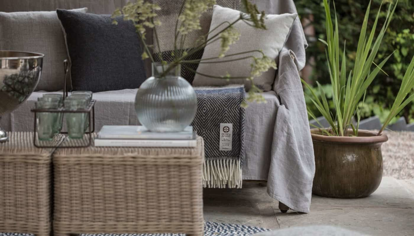 luxury products from so cosy natural linen wool blankets cushions jute rugs
